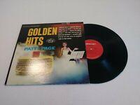 PATTI PAGE GOLDEN HITS LP VINYL RECORD JAZZ 1960 SR 60495       A