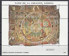 Spanien Block 22 postfrisch Wandteppiche