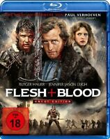 Flesh + Blood - Uncut Edition [Blu-ray](FSK 18/NEU/OVP) von Paul Verhoeven