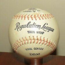 vintage Draper Maynard baseball DB30 Regulation League yarn wrap