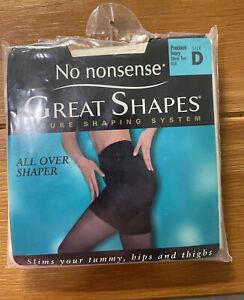 No Nonsense Great Shapes All Over Shaper Precious Ivory Sheer Toe Sz D