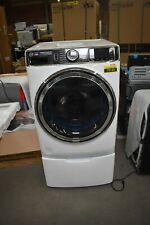 "GE GFW850SSNWW 28"" White Front-Load Smart Washer NOB #79149 HRT"