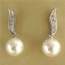 Synthetisch hergestellte Mode-Ohrschmuck mit Strass-Perlen für Damen