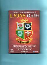 BRITISH & IRISH LIONS RUGBY DVD - AUSTRALIA 2013 LIONS RAW