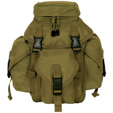 New Tactical Military Style Recon Mission 6 Compt Molle Butt Pack - Coyote Tan