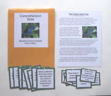 Teacher Made Literacy Center Learning Resource Comprehension Skills Non-Fiction