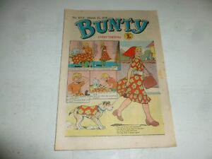 BUNTY Comic - No 1054 - Date 25/03/1978 - UK Paper Comic