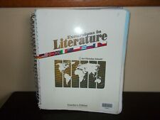 Excursions in Literature for Christian Schools Teachers Edition BJU Press