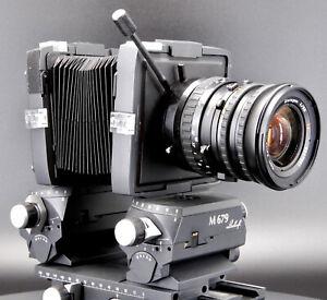 Custom made Hasselblad V mount lenses on Linhof 679 Adapter