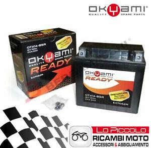 Moto Guzzi V7 Clásico 750 2009 Batería Moto OKYAMI AGM YTX14-BS Precargada