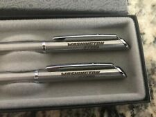 Vintage Washington Steel Pen & Pencil Set By Quill