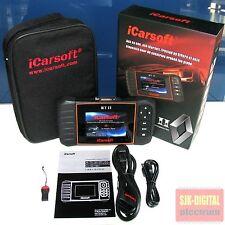 OBD2 iCarsoft RTII Diagnosegerät für RENAULT Espace Laguna Master SERVICE RESET+