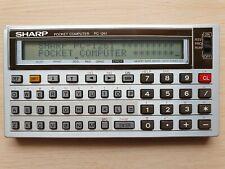 SHARP PC-1261 Pocket Computer, BASIC Calculator, Taschenrechner #607
