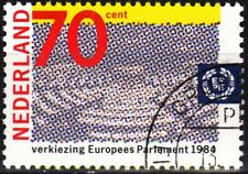 Netherlands 1984 Mi. 1245. Europa: 2nd Direct Elections to Europarliament, Used