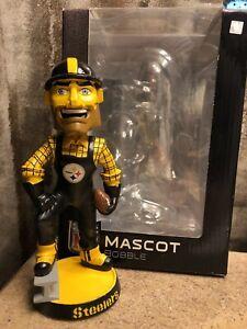 "Pittsburgh Steelers ""STEELY McBEAM"" NFL Mascot EXCLUSIVE Bobblehead NIB!"