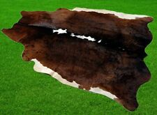 """New Cowhide Rugs Area Cow Skin Leather 21.75 sq.feet (58""""x54"""") Cow hide A-5881"""