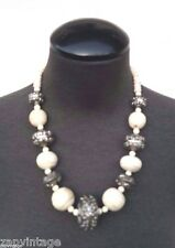 Vintage 1960's Egyptian Chunky Choker Costume Jewelry Necklace