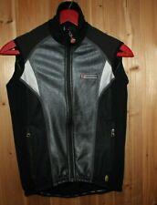 Hincapie Italy women S Cycling Wind Zip Vest Jacket sleeveless Black reflective