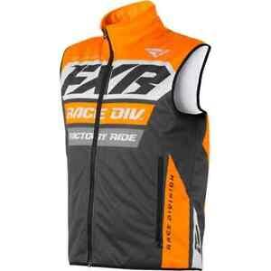 FXR Racing F19 Race Ready Insulated Mens Motocross CX MX Snowmobile Vest