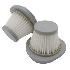 2Pcs HEPA Filter Element For Deerma Mini Push Rod Vacuum Cleaner DX118C DX128C