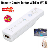Wireless Remote Controller for Nintendo Wii Wii U WiiU Games USB Charging