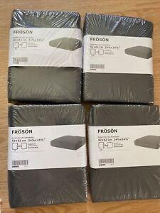 4 X New IKEA Froson Cover Cushion 62 x 62 GRAY 703.917.50 outtdoor duvholmen