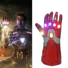 Kids Iron Man Thanos Gauntlet Infinity War Avengers Gloves with LED NEW