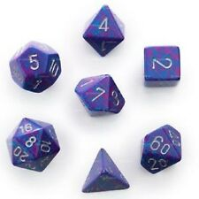 Speckled Dice Silver Tetra 7 Dice Set CHX 25347