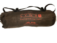 ALPS Mountaineering Lynx Tent, 1-Person, Clay/Rust