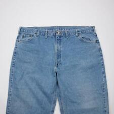 CARHARTT B17STW Relaxed Fit Tapered Jeans Stonewashed Denim Mens 48x30