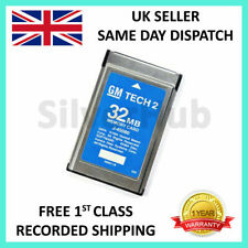 NEW FOR OPEL 173.000 1997-2014 GM TECH2 TECH 2 32MB MEMORY CARD SOFTWARE ENGLISH