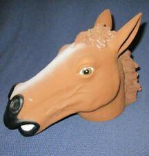 Brown Horse Head Squirrel Feeder Gag Fun Feeder by Archie McPhee Accoutrements