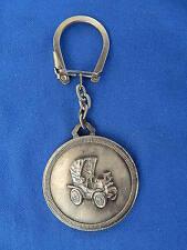 PORTE-CLES ANCIEN / Old key ring - TACOT / Rattletrap - LIMOGES / GUERET