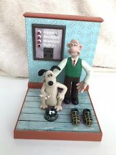 Wallace And Gromit Talking Alarm Clock Wesco 1995 Vintage Retro Collectable