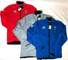 Adidas Team GB Official Jacket Running Training Olympics Red Blue Grey Men Women