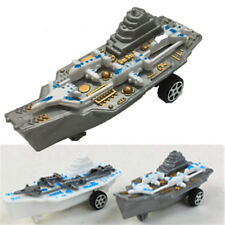 Plastic Educational Pull Back Military Model Aircraft Carrier Kids Gift ToysNTHX
