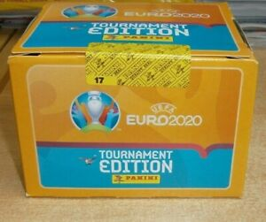 Panini UEFA Euro 2020 Tournament Official Stickers Choose 25 50 100 packs or Box