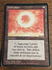 1X Sol Ring - Revised FBB - * Italian, SEE PICTURES * MTG CARD