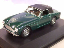 OXFORD 1/43 1957-59 ASTON MARTIN DB2 MKIII DHC IN BRITISH RACING GREEN AMDB2002