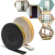 D/E/P/I Draught Excluder Self Adhesive Rubber Door Window Seal Strip Roll Foam