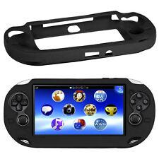 NUOVO custodia in silicone nero per Sony PS Vita PSV HK