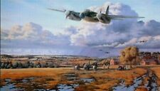RAF de Havilland Mosquito print, limited artist proof edition signed.