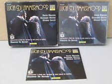 DONIZETTI: Lucia Di Lammermoor 3-CD -Massimo De Bernard RARE (Denia Mazzola)