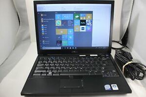 """Dell Latitude  E4300 Core 2 Duo P9400 4GB RAM 160GB HDD 12.5"""" Win 10 Pro Laptop"""