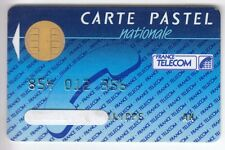 TELECARTE / PHONECARD .. CARTE FRANCE TELECOM PASTEL NAT. 1988 PUCE CP8 BULL N°7