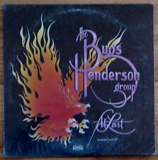 Bugs Henderson 1st Album, At Last, 1978 Vinyl LP, New, Still Sealed Never Played