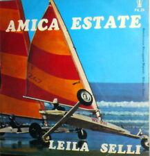 """LEILA SELLI  NON LITIGO PIU'  7""""  45 GIRI  AMICA ESTATE ITALY 1975"""