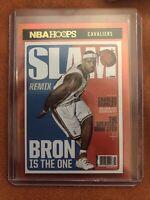 2020-21 NBA Hoops Lebron James Slam Cover Holo Gold foil SP