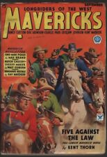Mavericks 1934 September, #1. Scarce.     Pulp