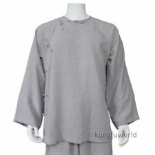 Chinese Kung fu Tai chi Jacket Martial arts Wing Chun Coat Old Style 25 Colors